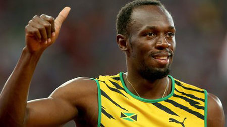Usain Bolt struggles in 100m semi
