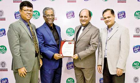 Aci Salt Gets Ohsas Certificate