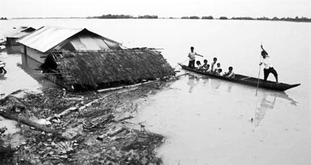 South Asian floods in 2016 and its economic impacts