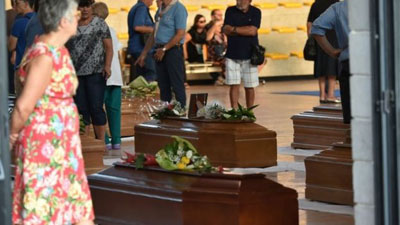 Italy earthquake Day of national mourning for victims