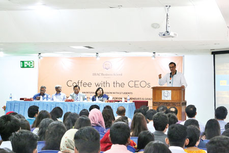'Coffee with the CEOs' invigorates young minds at BRAC University