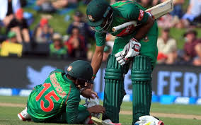 Mushfiqur out for 2 weeks with hamstring injury