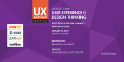 Second UX Boot Camp in Jan