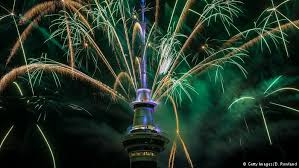 Auckland first major city to welcome in 2017