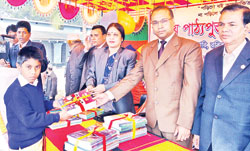 Book distribution festival held in districts