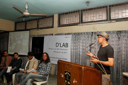First Dhaka International Live Art Biennale at DU