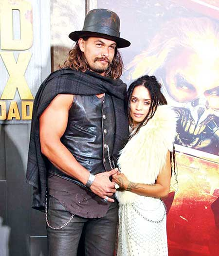 Lisa Bonet S Husband Jason Momoa Has Matching Rings With: Jason Momoa Has Officially Tied The Knot With Lisa Bonet