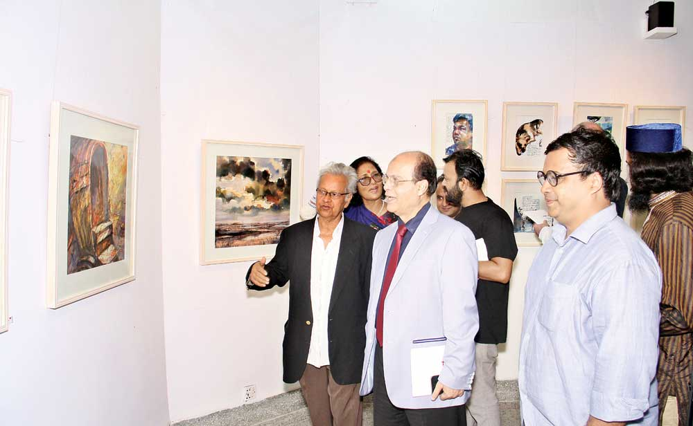 Iqbal Sobhan Chowdhury, Media Adviser to the Prime Minister was present as chief guest at the inaugural session of the exposition.