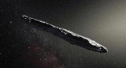 Cigar-shaped asteroid came from another solar system: study