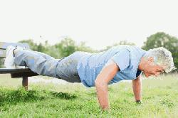 Press-up best exercise for a longer life