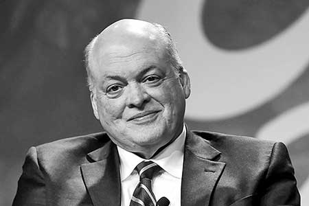 Ford President and Chief Executive Officer Jim Hackett.