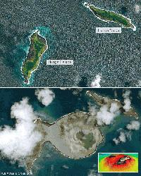 'Baby island' a natural lab