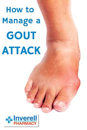 Managing a Gout attack