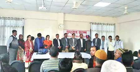 United Hospital conducts free medical camp at Jamalpur