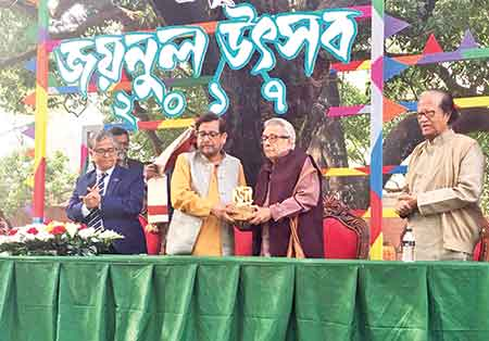 Three cultural luminaries honoured with Zainul Memorial Awards