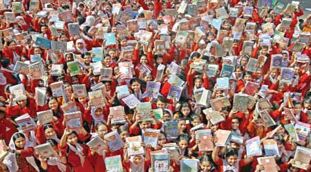 35.42 crore free textbooks to be distributed on Monday