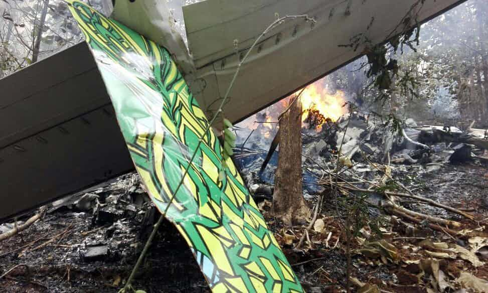 10 US citizens among 12 killed in Costa Rican plane crash