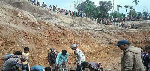 4 killed in Jaflong stone quarry slide