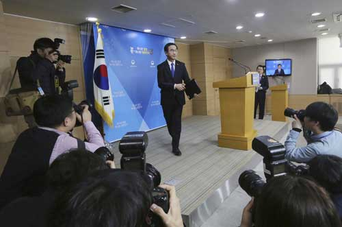 South Korea offers to talk with North on Olympics cooperation