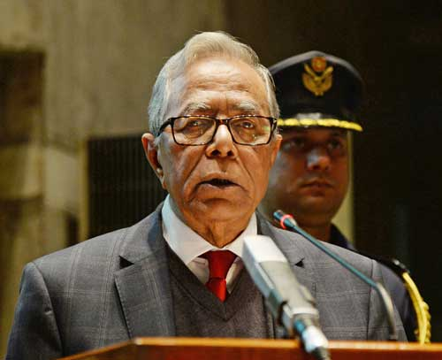 Work unitedly to root out terrorism, militancy: President