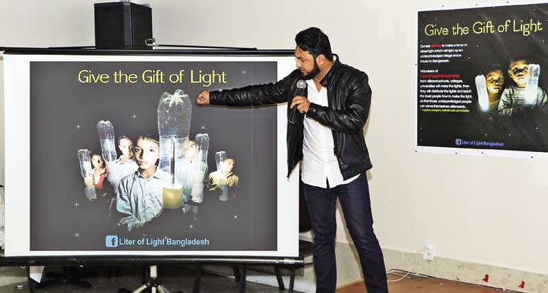 Giving the Gift of Light hosted in New York