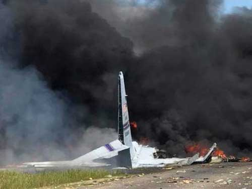 9 feared dead in US military plane crash