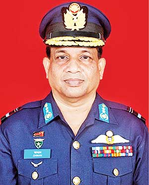 Masihuzzaman Serniabat new Air Chief