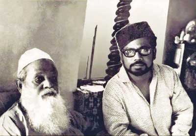 Dr. Muhammad Shahidullah with his son Murtaja Baseer