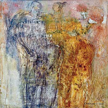 Shahid Kabir, the painter of humans and humanity