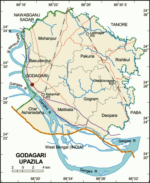 Housewife died mysteriously in Godagari