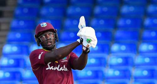 Russell power hauls West Indies home in shortened chase
