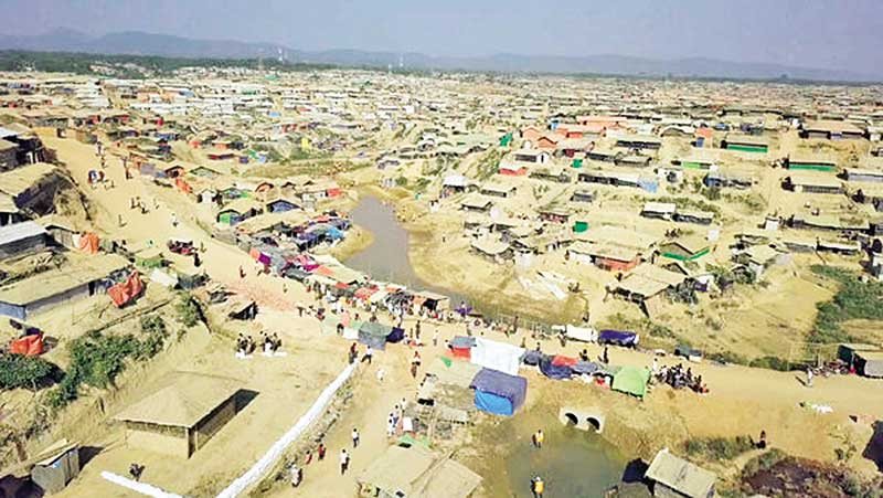 Environmental impact of the Rohingya influx