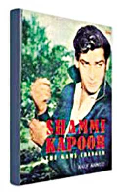 Shammi Kapoor: The Game Changer by Rauf Ahmed Om Books International Price 595 Pages 246