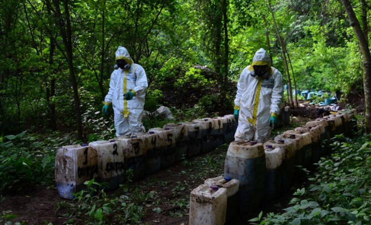 50 tons of meth found in Mexican mountain lab