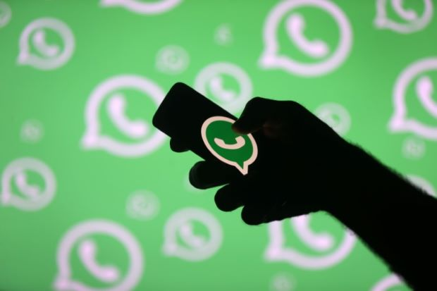 Wedding cancelled for bride's WhatsApp use