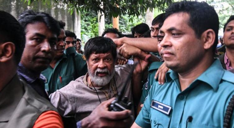 Court denies bail to Shahidul Alam