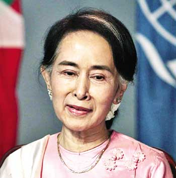 Suu Kyi not to attend UN General Assembly