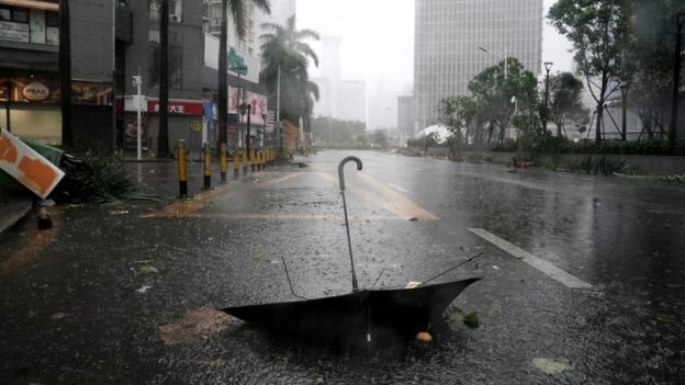 Typhoon Mangkhut makes landfall in China; Death toll rises
