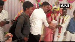 Couple gets 4 litres of petrol as wedding gift
