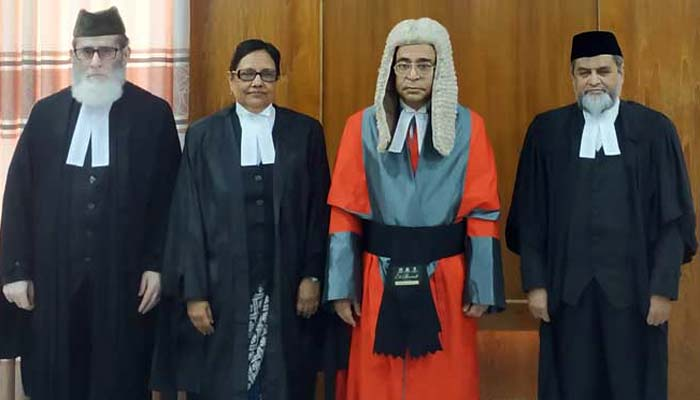 3 new judges of Appellate Division sworn in
