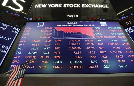 Trump 'crazy' Fed comment tumbles global stocks