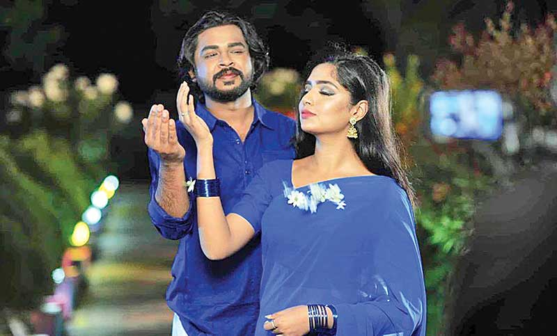 Shwapnil, Sraboni's Tagore song for puja celebrations