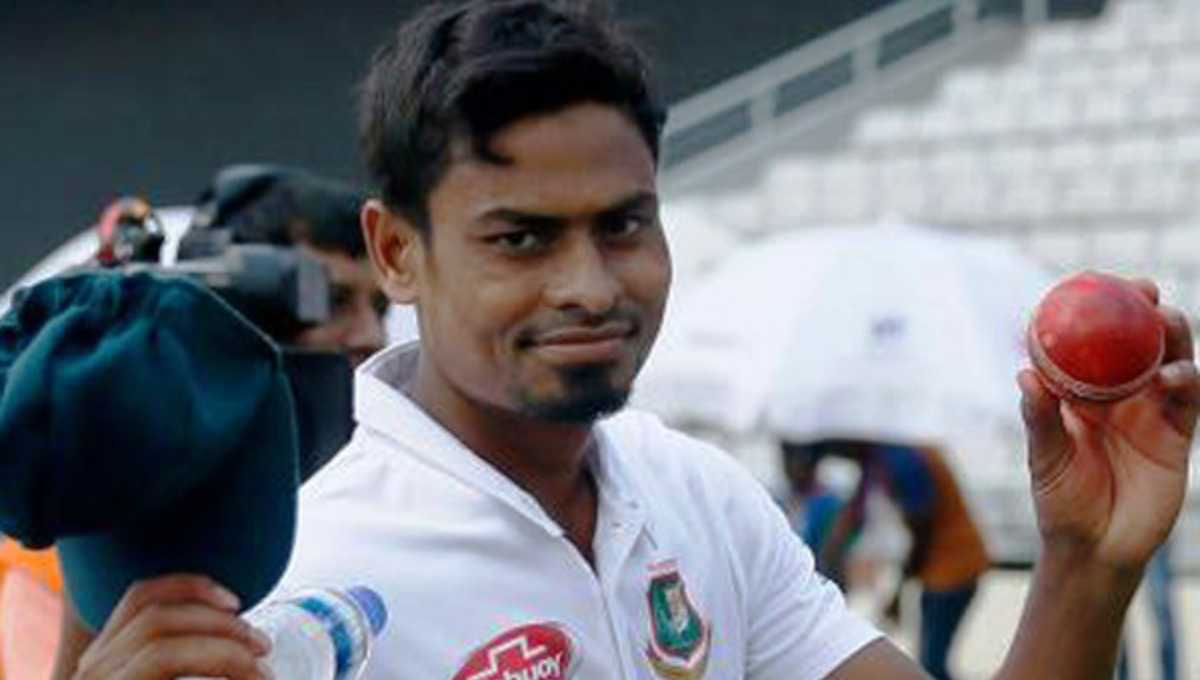 Taijul bags career-best match haul 11/170 in Test