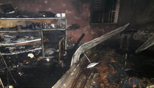 All 8 members of a family burnt alive