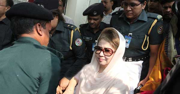 BNP chief taken to jail from BSMMU