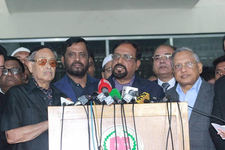 Jatiya Party hails EC for polls schedule