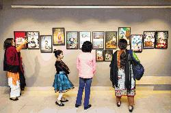 Baby photography exhibition at Drik Gallery