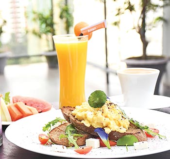 Amari Dhaka's Good Morning Breakfast Menu