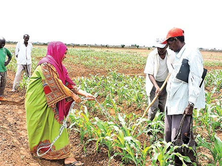 Let us utilize agriculture for making women self-reliant