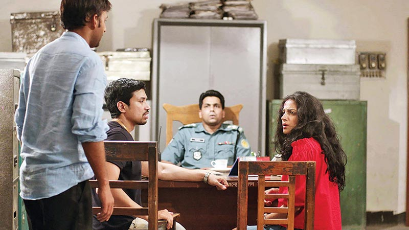 A scene from country's first anthological film 'Eti, Tomari Dhaka'